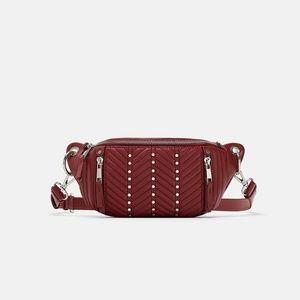NWT Zara Studded Belt Bag Fanny Pack